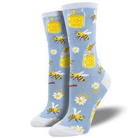 Socksmith Design Women's Bee My Honey Crew Sock