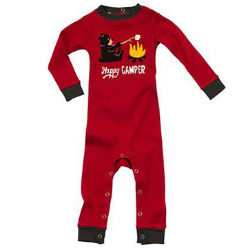 Lazy One Infant Boys Happy Camper Unionsuit