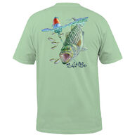 Salt Life Men's Buoy Striper Pocket Short-Sleeve T-Shirt