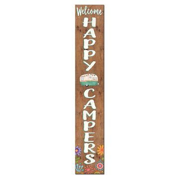 My Word! Welcome - Happy Campers Porch Board