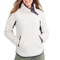 Southern Tide Women's Laura Fleece Long-Sleeve Pullover Sweater