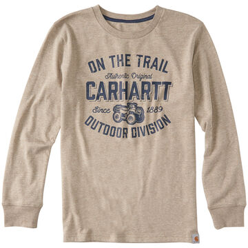 Carhartt Boys Outdoor Division Long-Sleeve T-Shirt