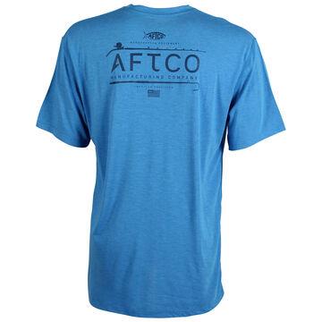 AFTCO Mens Fishtale Performance Short-Sleeve T-Shirt