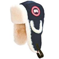 Canada Goose Men's Arctic Tech Shearling Pilot Hat