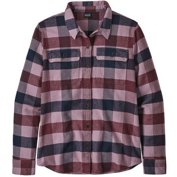 Patagonia Womens Fjord Flannel Long-Sleeve Shirt
