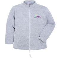 ESY Men's Mountain Logo Full Zip Sweatshirt