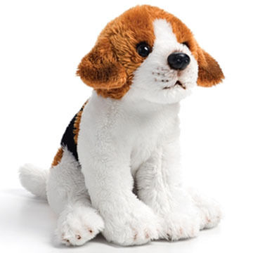 Nat & Jules Beagle Beanbag Stuffed Animal