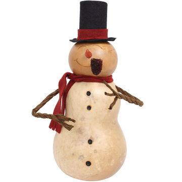 Meadowbrooke Gourds Stanley Medium Tall Snowman Gourd
