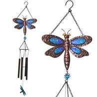 Red Carpet Studios Dragonfly Glimmer N' Glass Wind Chime