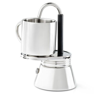 GSI Outdoors Glacier Stainless 1 Cup MiniEspresso Set