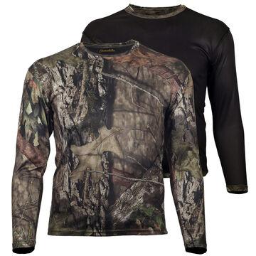 Gamehide Mens Ground Blind Reversible Long-Sleeve T-Shirt