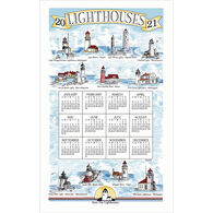 Kay Dee Designs 2021 Lighthouses Calendar Towel