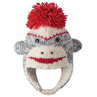 Knitwits Infant Boys' & Girls' Cute Sock Monkey Hat