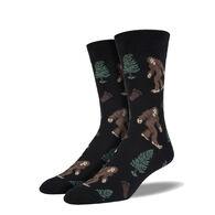 Socksmith Design Men's Bigfoot Crew Sock