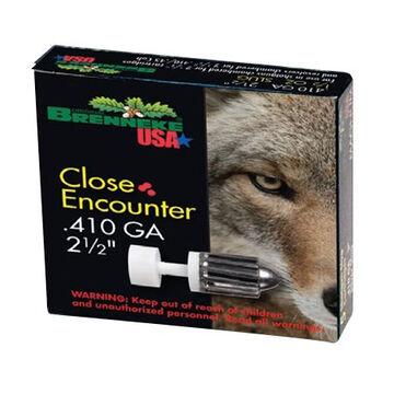 Brenneke Close Encounter 410 GA 2-1/2 1/4 oz. Slug Ammo (5)
