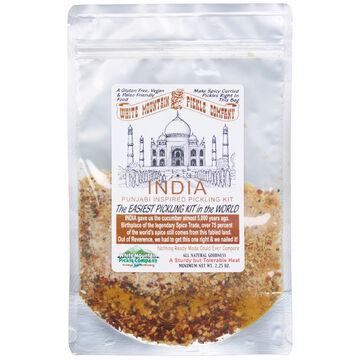 White Mountain Pickle Co. India Punjabi Inspired Pickling Kit