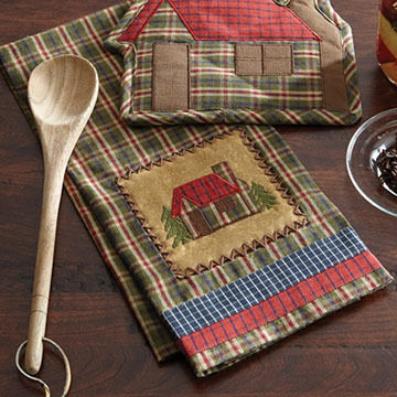 Park Designs Cabin Decorative Dish Towel