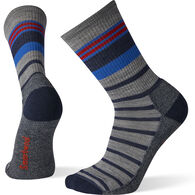 SmartWool Men's Hike Light Striped Crew Sock