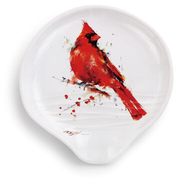 Big Sky Carvers Redhead Cardinal Spoon Rest