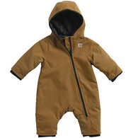 Carhartt Infant/Toddler Boys' Quilted Taffeta Lined Quick Duck Snowsuit