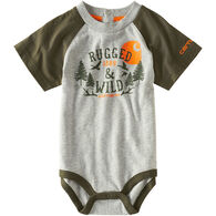 Carhartt Infant/Toddler Boys' Rugged & Wild Bodyshirt