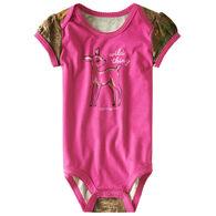 Carhartt Infant Girl's Wild Thing Short-Sleeve Bodyshirt