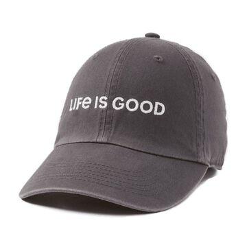 Life is Good Mens LIG Wordmark Horizontal Chill Cap
