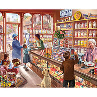White Mountain Jigsaw Puzzle - The Old Candy Store