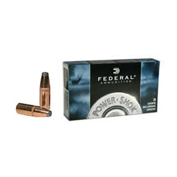 Federal Power-Shok 30-30 Winchester 150 Grain Soft Point FN Rifle Ammo (20)