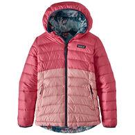 Patagonia Girl's Reversible Down Sweater Hoody Jacket