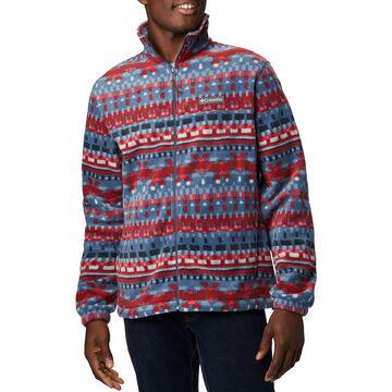 Columbia Mens Steens Mountain Full-Zip Print Fleece Jacket