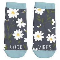 Karma Women's Good Vibes Ankle Sock