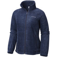 Columbia Women's Benton Springs Printed Full-Zip Jacket