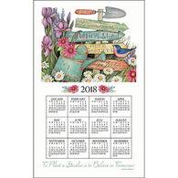 Kay Dee Designs 2018 Garden Signs Calendar Towel