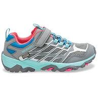 Merrell Girls' Big Kid Moab FST Low A/C Waterproof Sneaker/Hiking Shoe