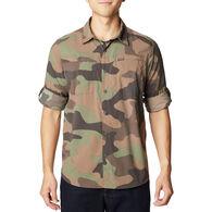 Columbia Men's Newton Ridge Printed Long-Sleeve Shirt