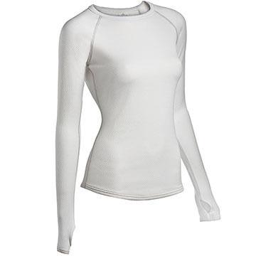 ColdPruf Womens Honeycomb Crew-Neck Base Layer Shirt