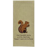 Park Designs Squirrel Embroidered Dishtowel