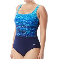 TYR Sport Women's Arctic Scoop Neck Controlfit Swimsuit