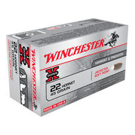 Winchester Super-X 22 Hornet 45 Grain Jacketed Soft Point Rifle Ammo (50)