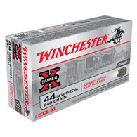Winchester Super-X 44 Smith & Wesson Special 240 Grain Cowboy Action Lead Flat Nose Handgun Ammo (50)