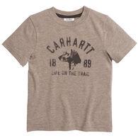 Carhartt Boy's Life On The Trail Short-Sleeve T-Shirt
