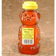 Maine Maple Products Pure Maine Honey Bear Honey, 2 oz.