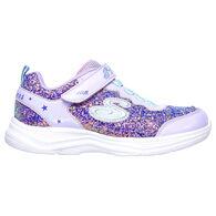 Skechers Girls' S Lights: Glimmer Kicks - Glitter N' Glow Athletic Shoe