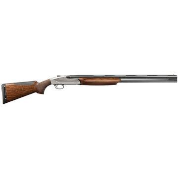 "Benelli 828U 12 GA Satin Walnut / Engraved Nickel 26"" O/U Shotgun"