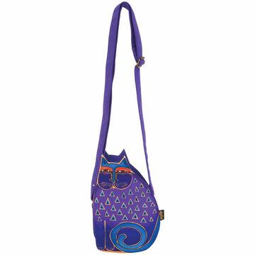Sun N Sand Womens Cat Family Cut Out Crossbody Handbag