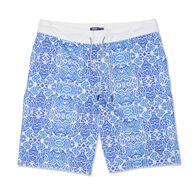 johnnie-O Men's Riptide Half Elastic Surf Short