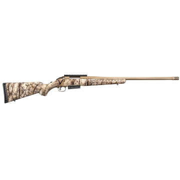 Ruger American Rifle Go Wild Camo 450 Bushmaster 22 3-Round Rifle