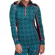 Kari Traa Women's Rose Half Zip Hooded Pullover