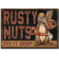 Desperate Enterprises Rusty Nuts Fix It Shop Magnet